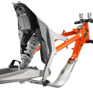 subframe KTM unveils 2018 Freeride E-XC with 50 percent more battery