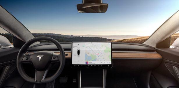 Model 3 - Interior Dashboard - Head On (1)
