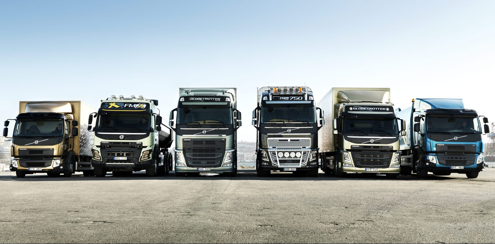hight resolution of volvo announces that it will put electric trucks on the road this year
