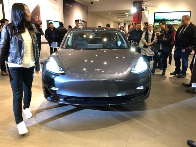Tesla Model 3 stanford 1