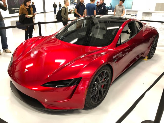 Tesla roadster hq