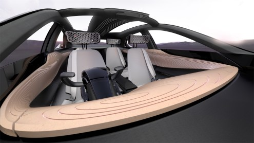 Nissan IMx KURO concept vehicle interior