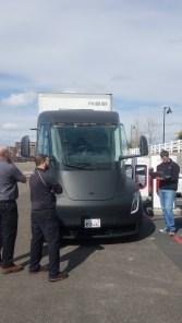 Tesla Semi Supercharging