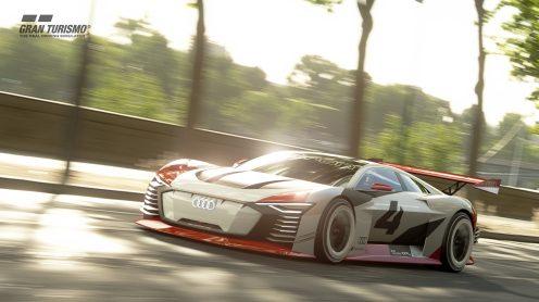Audi e-tron Vision Gran Turismo, GT Sport
