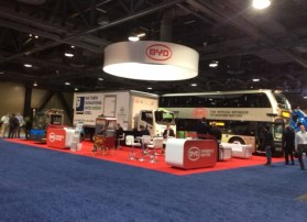 BYD Booth at ACT Expo2