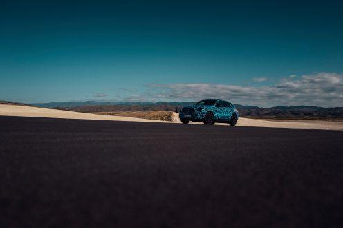 Testfahrten in der Hitze Spaniens: Der Mercedes-Benz EQC auf Sommererprobung