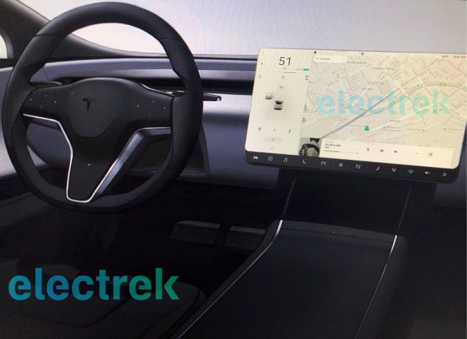 Tesla Model S: X design update Selected rack 2