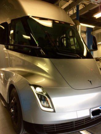 Tesla semi prototype inspection 1