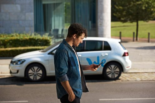 Carsharing for all – easy and App-based.