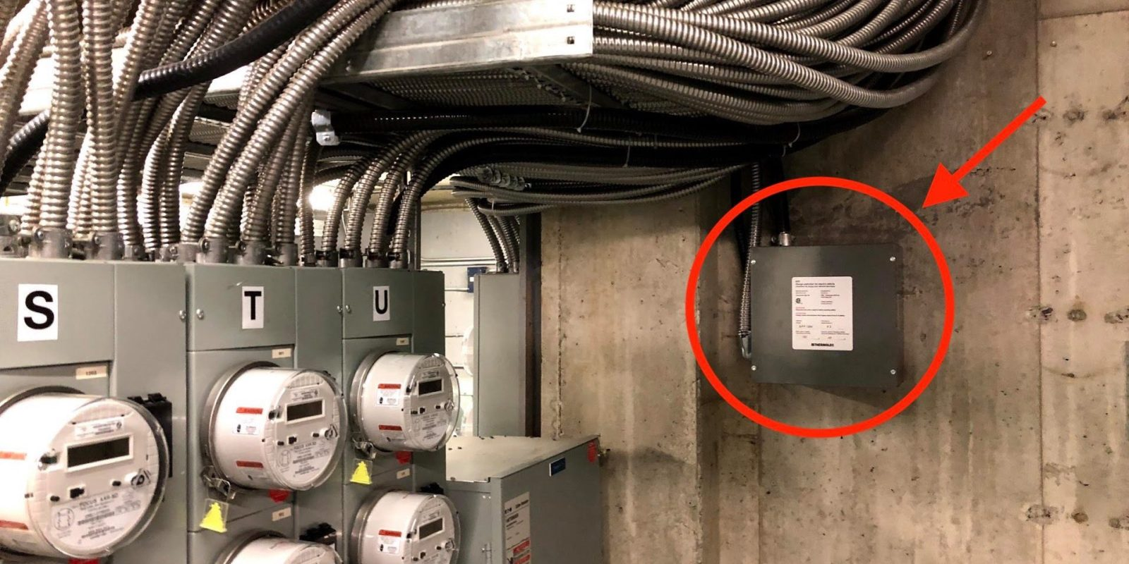this boring little box can fix the nightmare of installing ev charging stations in condos [ 1600 x 800 Pixel ]