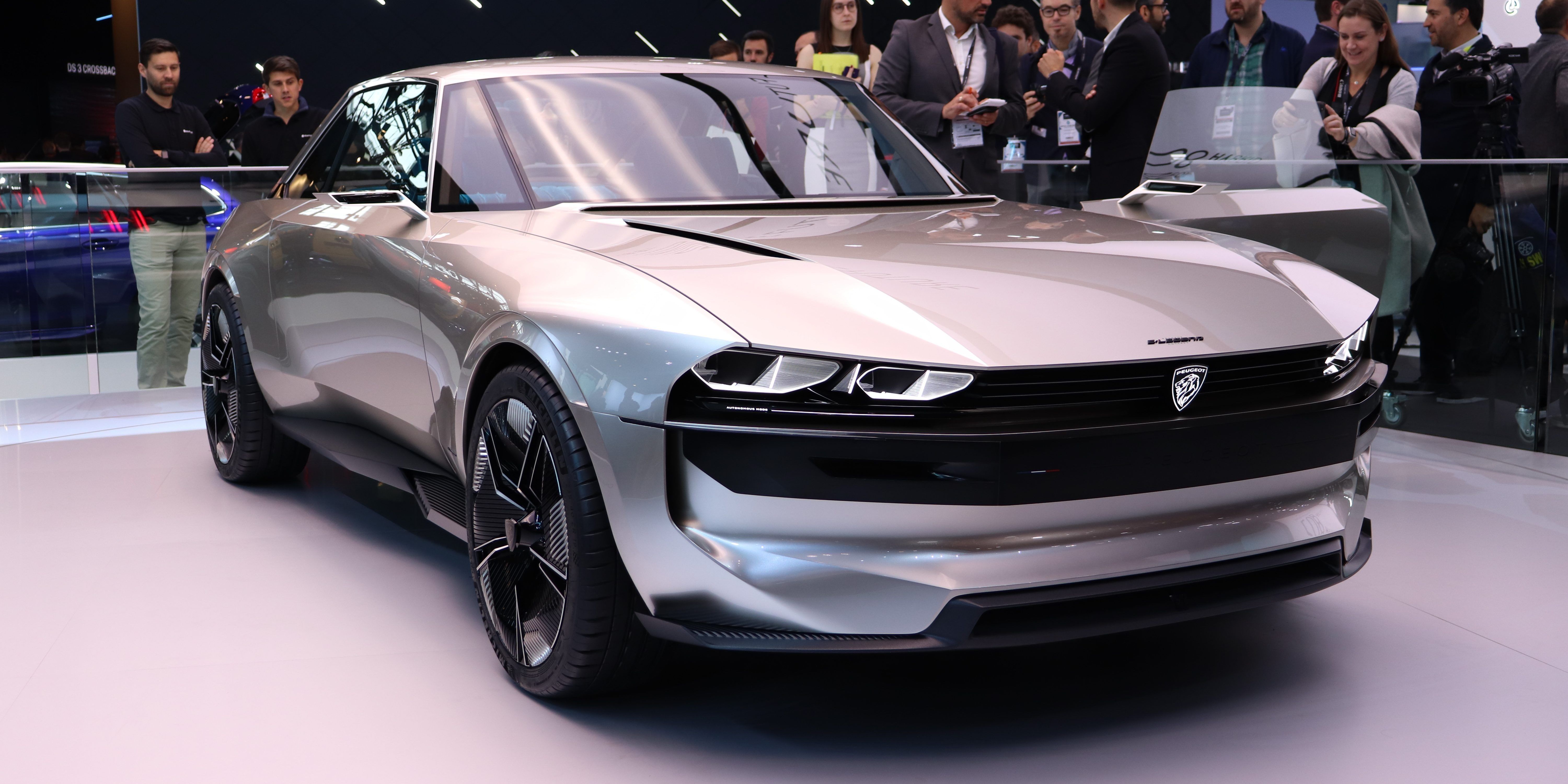 A Closer Look At Peugeot's Stunning New Elegend Electric