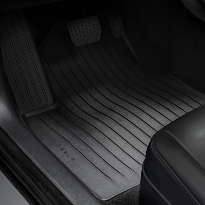 Tesla Model 3 All Weather Interior Mats 2