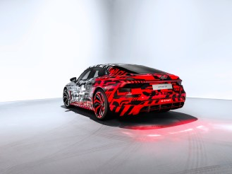 The Audi e-tron GT concept: Debut at the Los Angeles Auto Show 2018 on Wednesday 28, 2018
