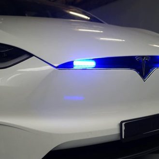 Tesla Model X police vehicle 7