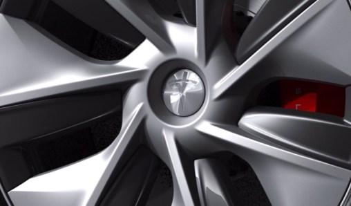 Tesla Model 3 new wheels