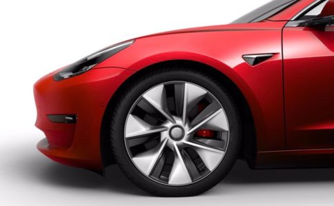 Tesla Model 3 new wheels