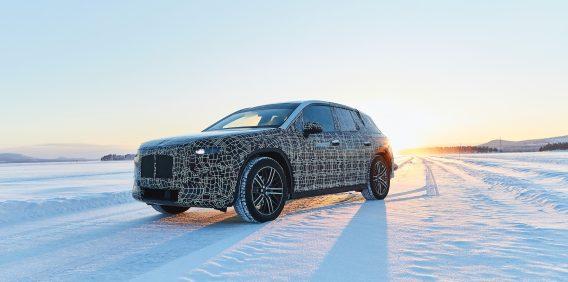 BMW iNext winter testing