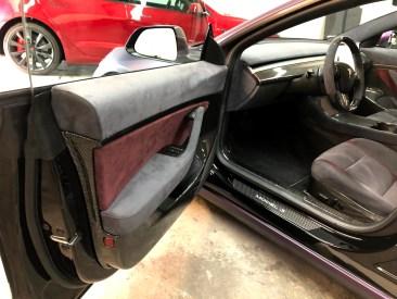 Tesla Model 3 Purple 7
