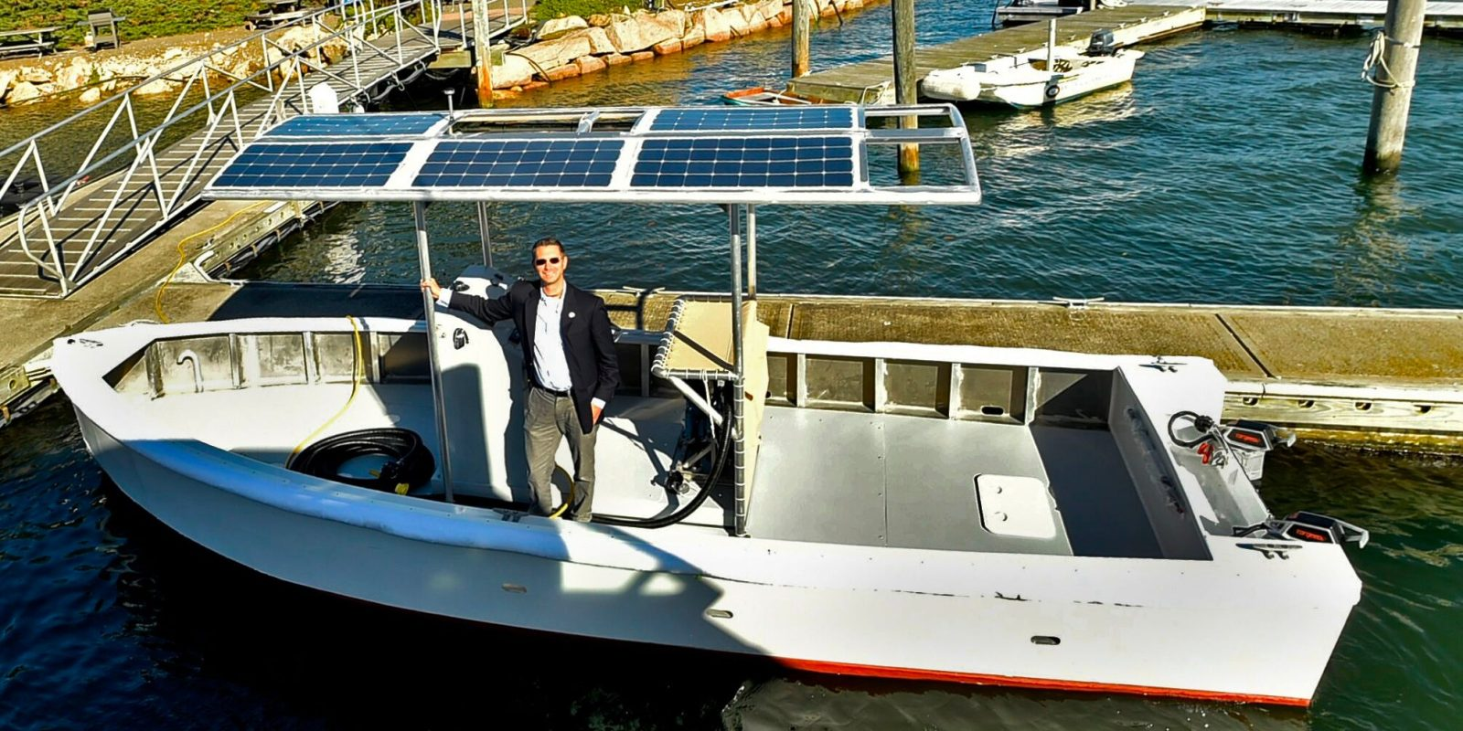 Solar Electric Fishing Boats - Year of Clean Water