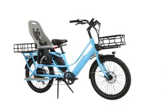 blix packa electric cargo bike