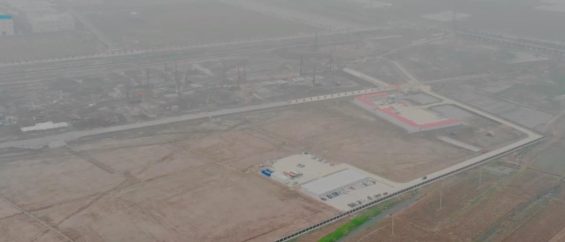 [Image: Tesla-Gigafactory-3-site-drone-update.jp...=all&ssl=1]