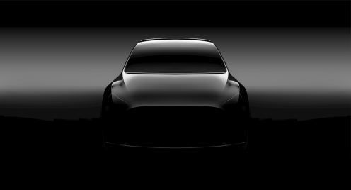 Tesla MOdel Y hero teaser