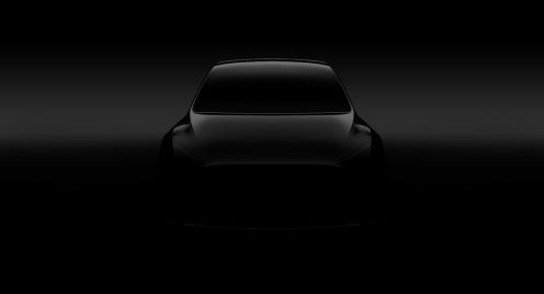 Tesla MOdel Y hero teaser
