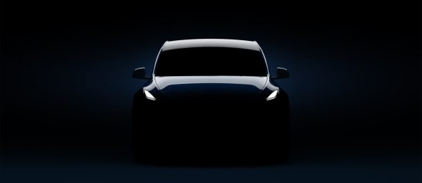 tesla Model Y headlights