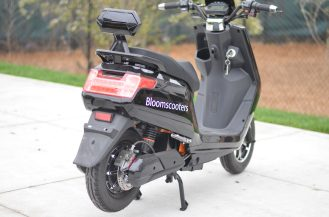 bloom scooter electric scooter ampere motors