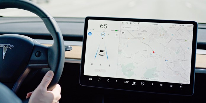 Tesla releases new update for vehicles with its new 'Tesla Vision' system  to restore Autopilot features - Electrek