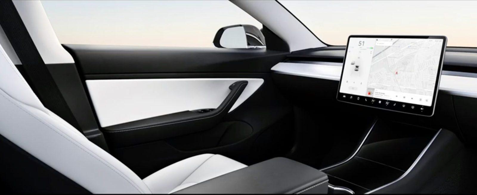 tesla unveils car design