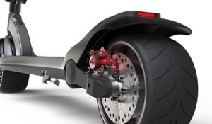 25 MPH WideWheel electric scooter