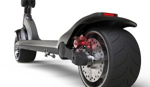 1,000W WideWheel electric scooter
