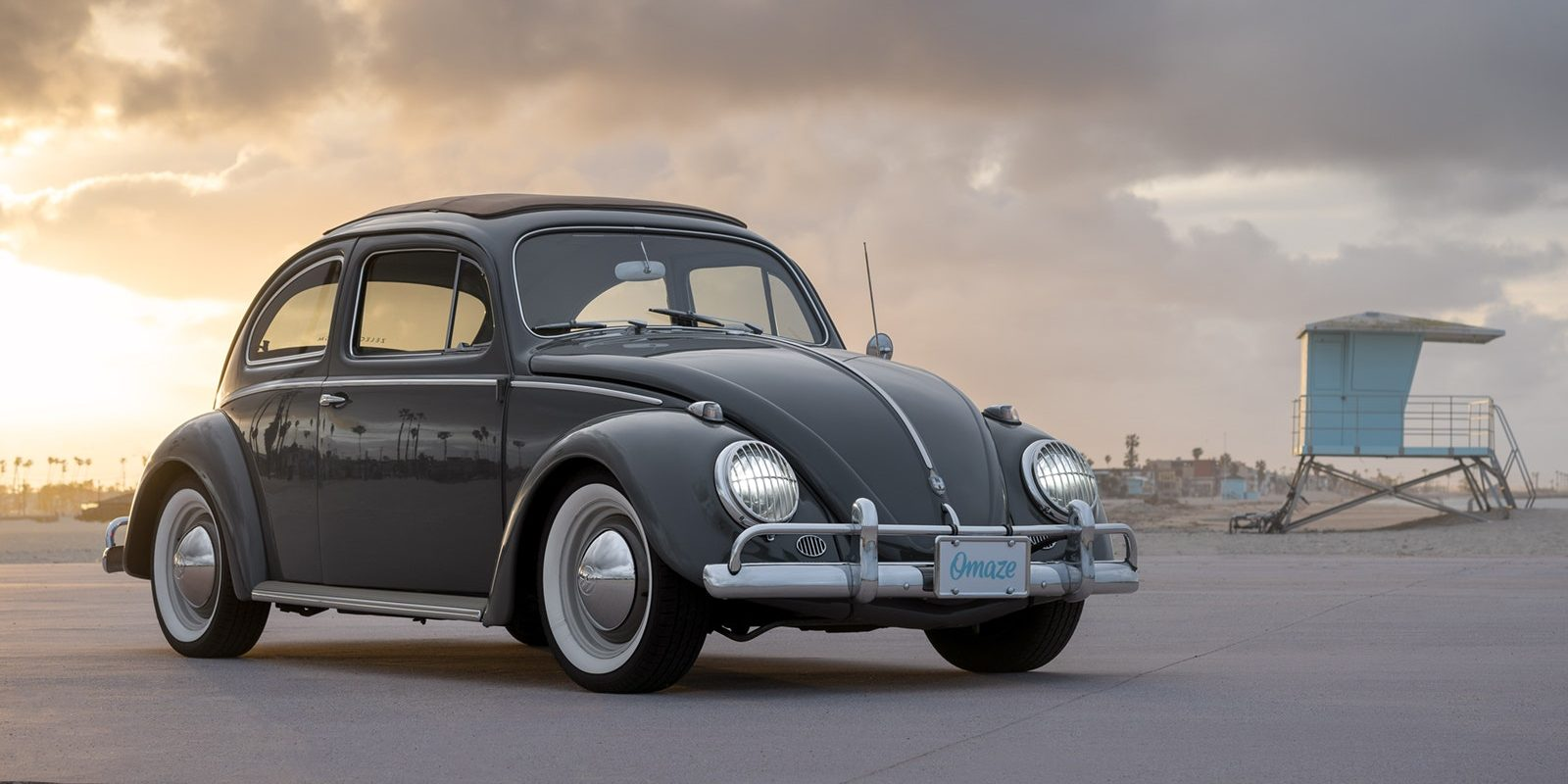you can win this tesla powered old school vw bug [ 1600 x 800 Pixel ]
