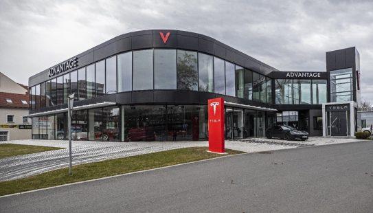 Tesla Service center Prague 1