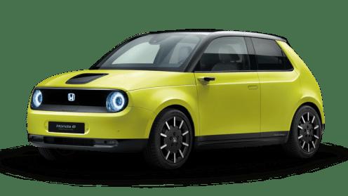 Honda e yellow reservations
