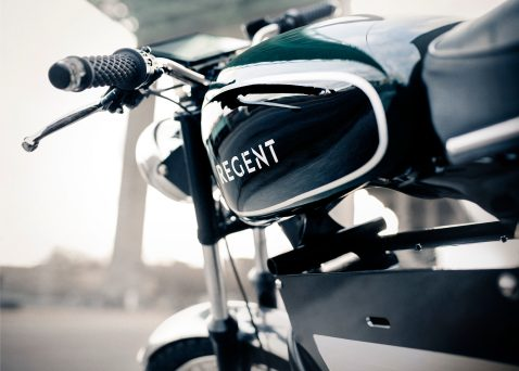 Regent NO 1. electric motorcycle