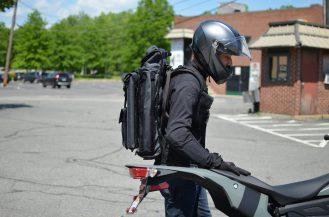 Mission Workshop Bag on Zero FXS