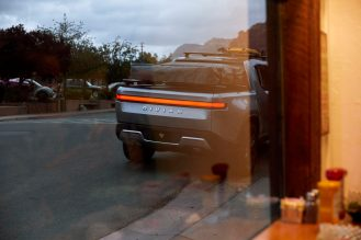 Rivian R1T electric pickup truck camper 8