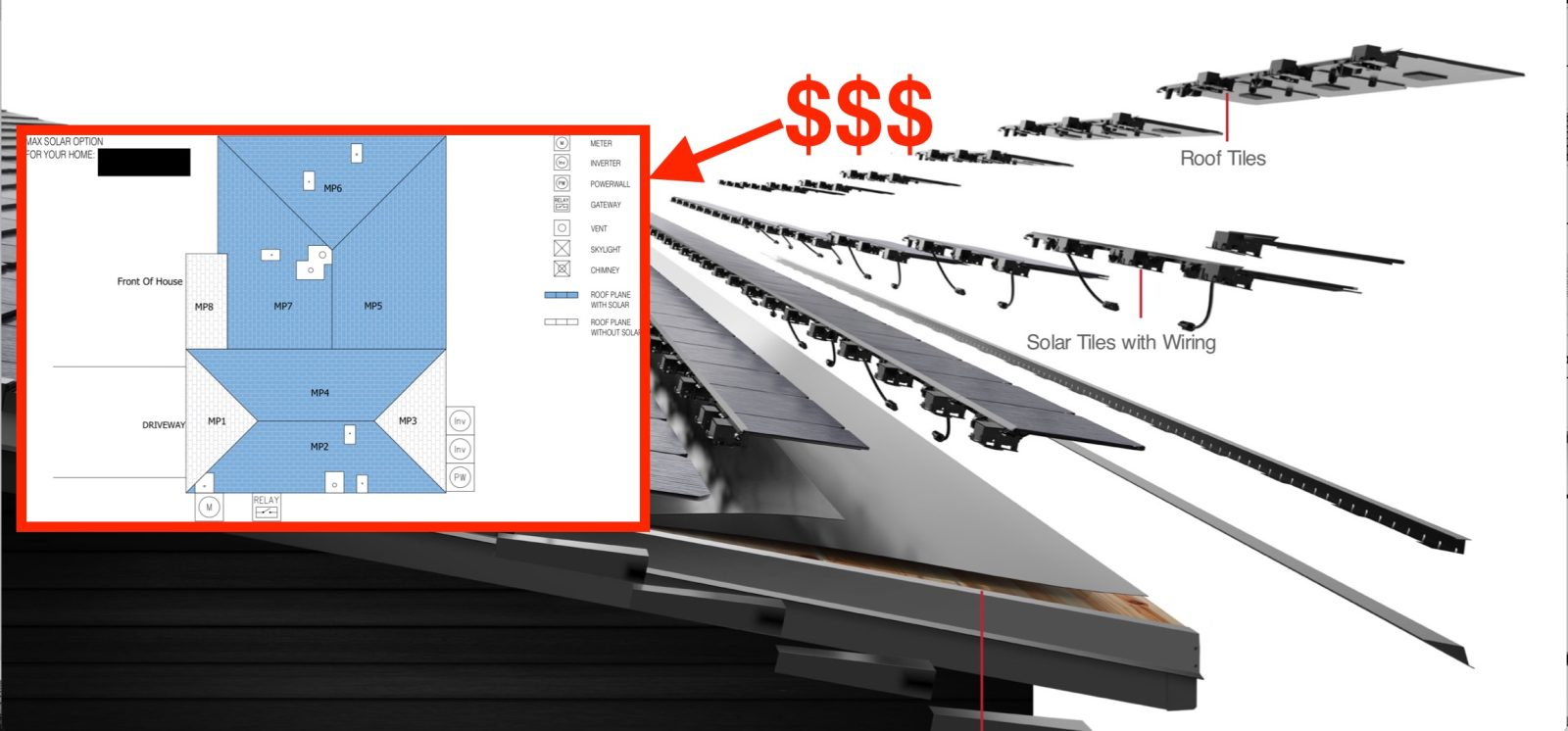 hight resolution of here s a real tesla solar roof quote and the price will shock you