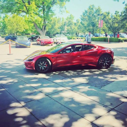 Tesla Roadster shareholders meeting 1