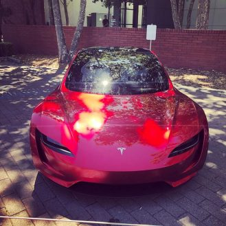 Tesla Roadster shareholders meeting 5