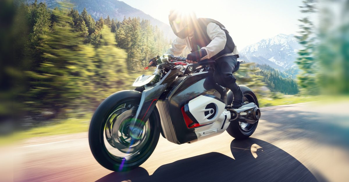 BMW patent reveals upcoming electric motorcycle could make history as an industry first