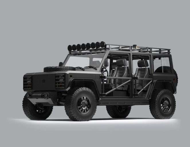 Bollinger custom electric truck 1