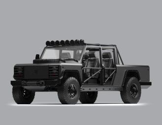 Bollinger custom electric truck 3