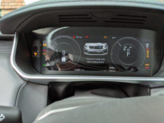 Range Rover Sport PHEV instrument cluster 2