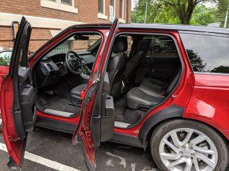 Range Rover Sport PHEV doors