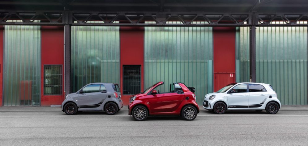 Die neue Generation: smart EQ fortwo und forfour The new generation: smart EQ fortwo and forfour