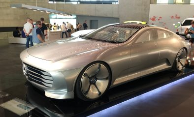 Mercedes electric concept