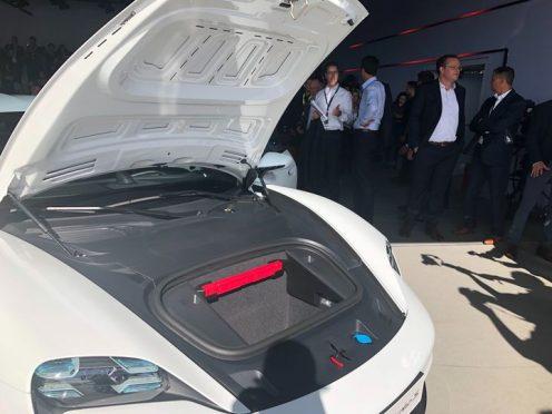 Porsche Taycan front trunk